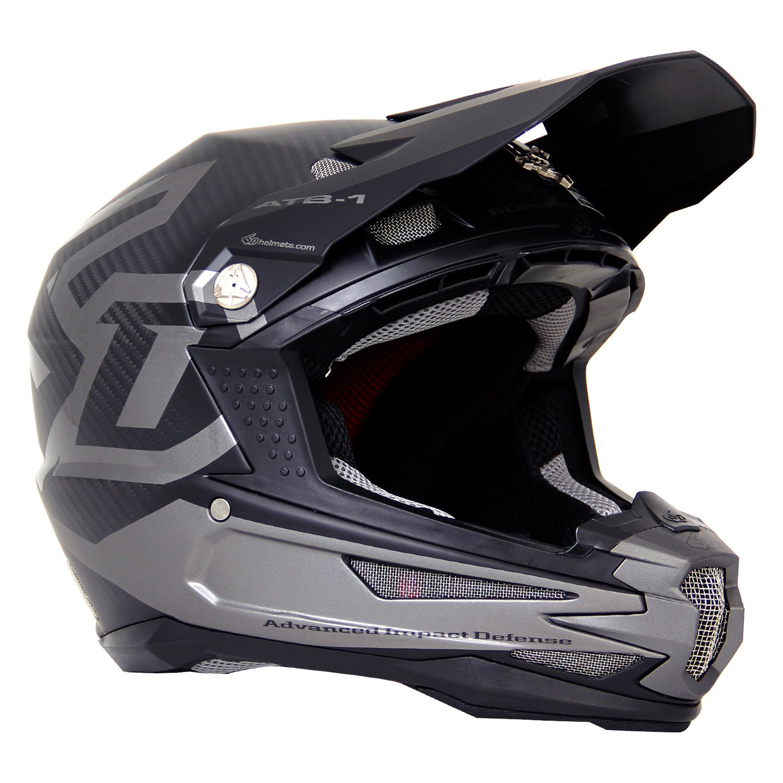 d8131e02 6D Helmets® - ATB-1 Carbon Macro X-Small Matte Black Helmet