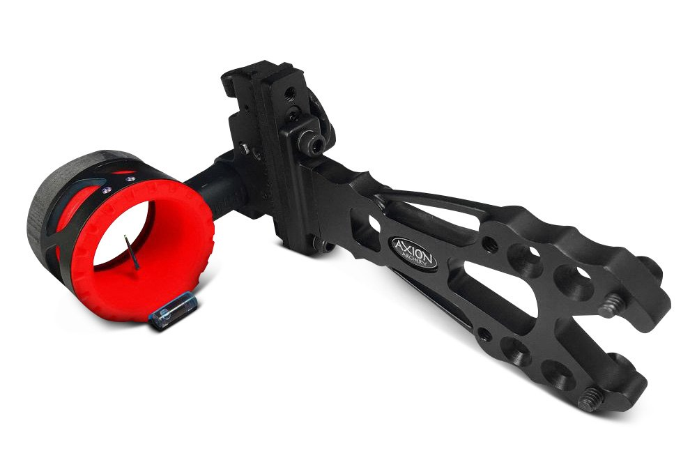 """Axion Archery AAA-5000B Envy Black Dampener Aluminum 5/"""" Hunting Bow Stabilizer"""