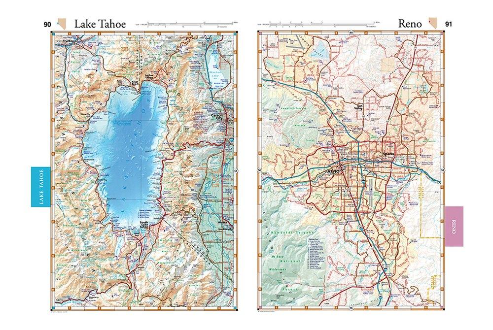 Benchmark Maps Road Recreation Atlas Recreationid