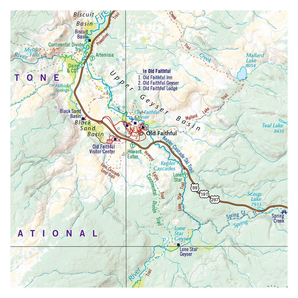 Benchmark Maps® - Greater Yellowstone & Grand Teton Recreation Atlas & Guide