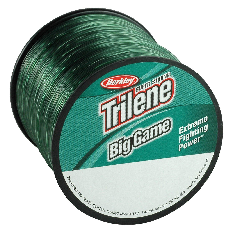 Trilene Big Game Mono Ligne Bobine 1//4Lb Lovis Vert 10522 environ 13.61 kg Berkley bgqs 30-22 30 lb