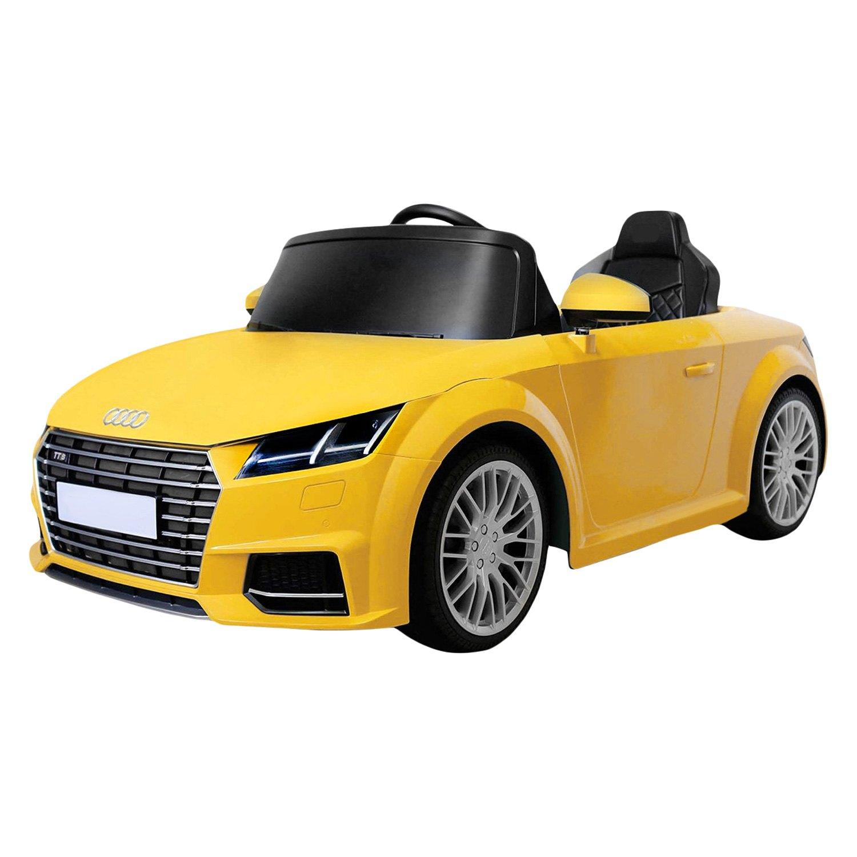 Best Ride On Cars 2017 Audi Tt 12v Yellow Electric Car 2
