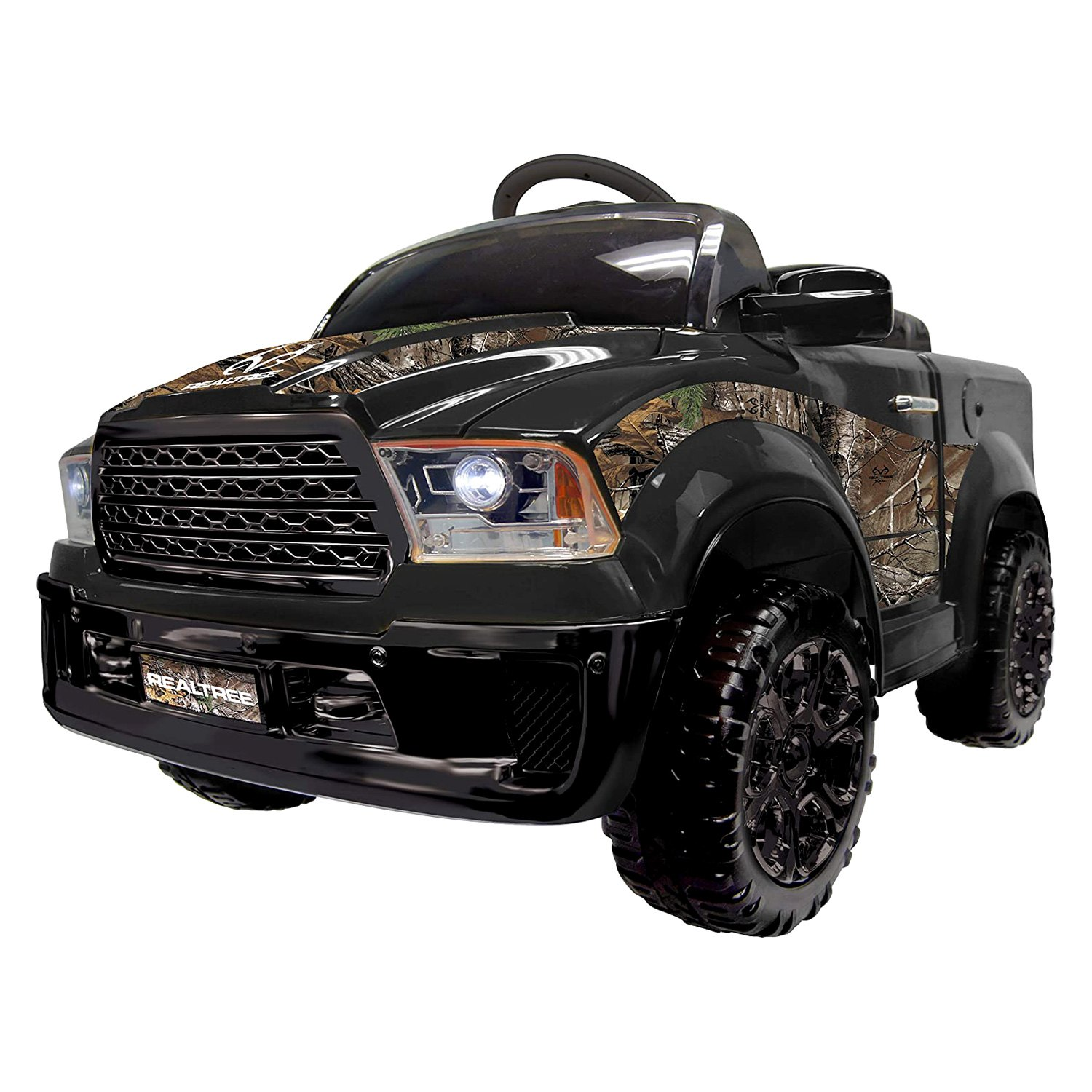 Best Ride On Cars Realtree 12v Black Electric Truck 2 5 Years