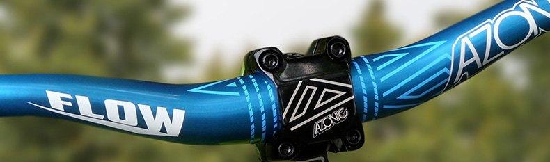 pair Azonic 420 Flats Pedal Blue