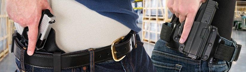 Galco® - Cop 3 Slot™ Strongside/Crossdraw Belt Holster