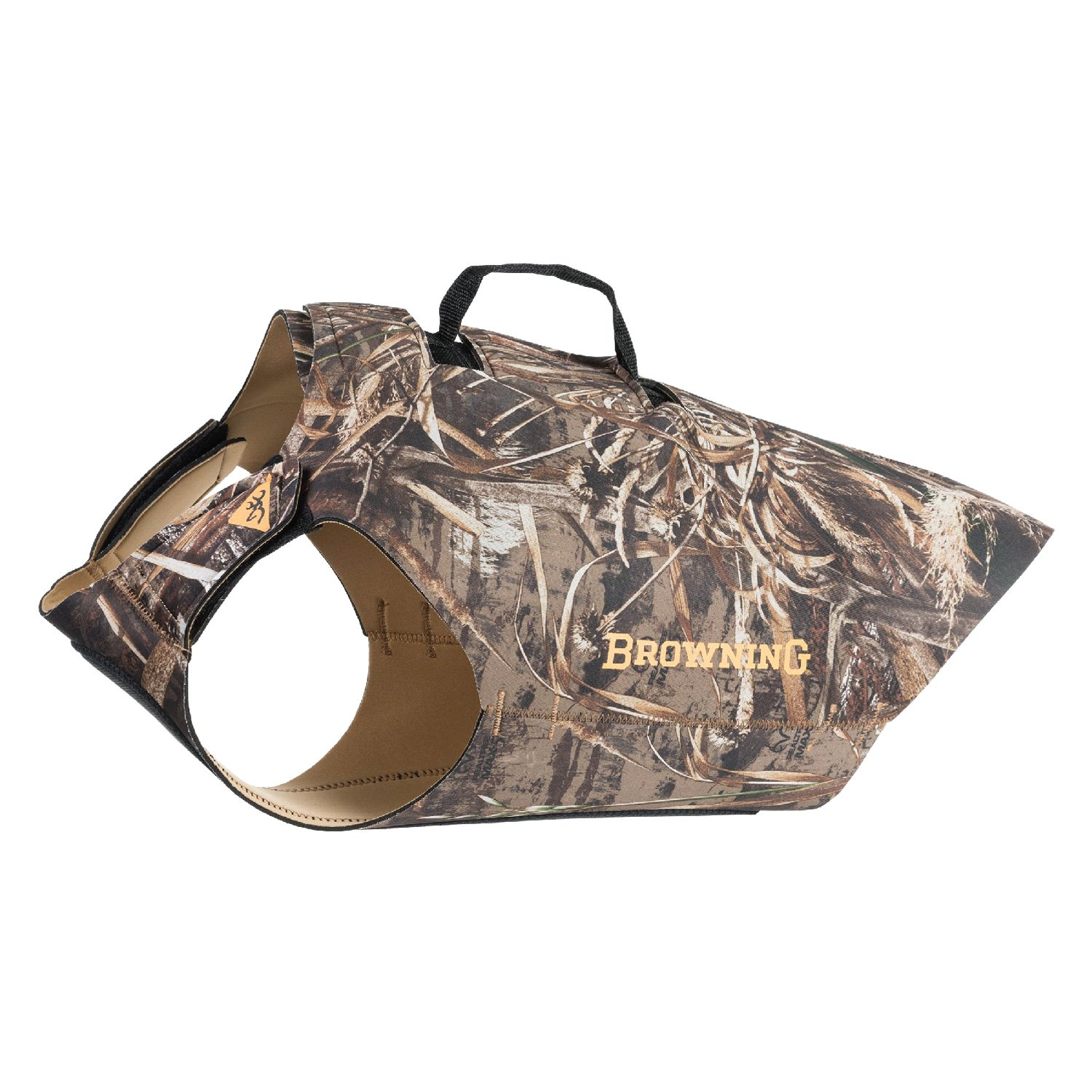 a06f3ae071c4f Browning Lifestyle® - Camo Small RealTree Max 5/Mustard Yellow Dog Vest