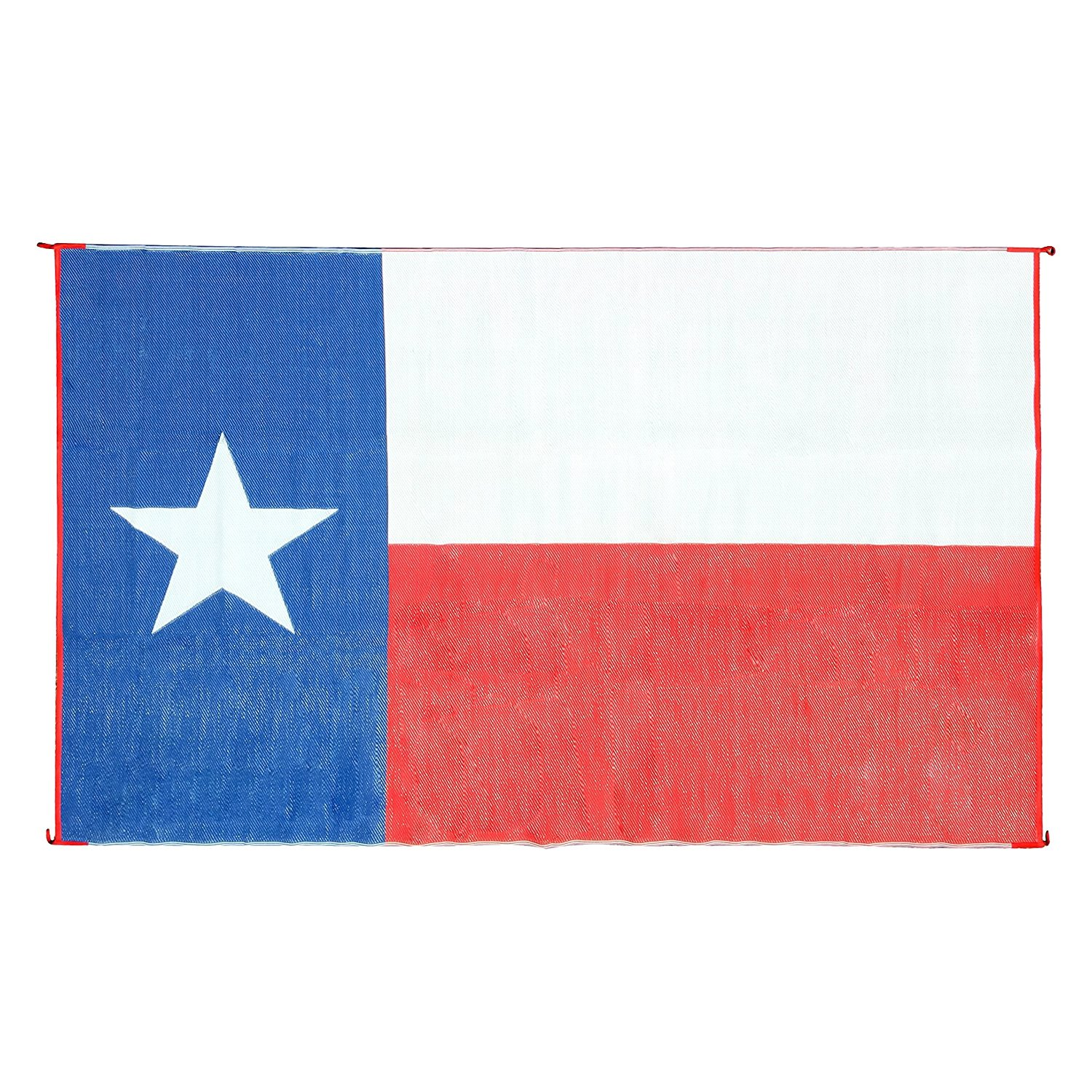 Camco 42860 Reversible 9 X 12 Texas Flag Bilingual Outdoor Mat Recreationid Com