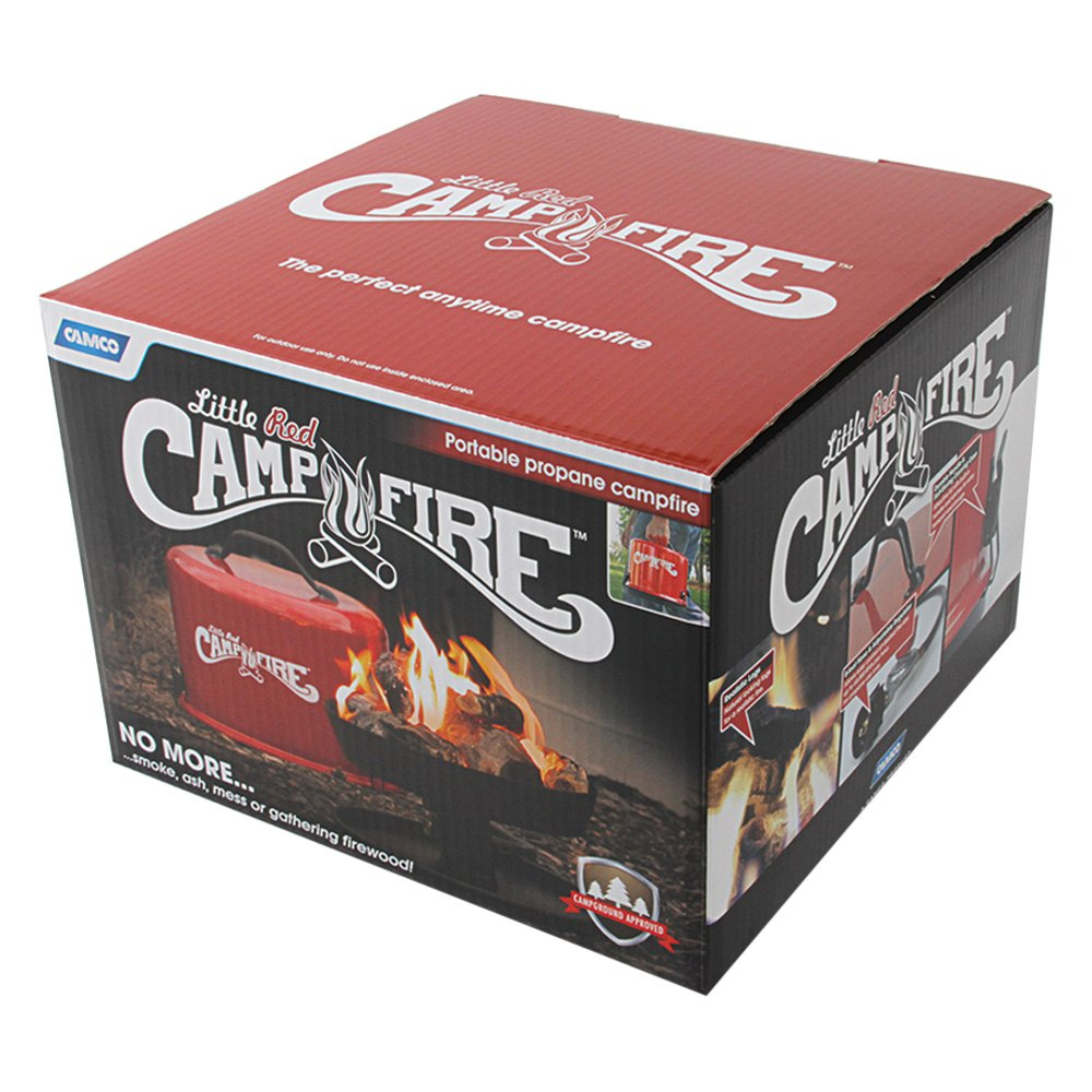 Camco 58031 Little Red Campfire Recreationid Com