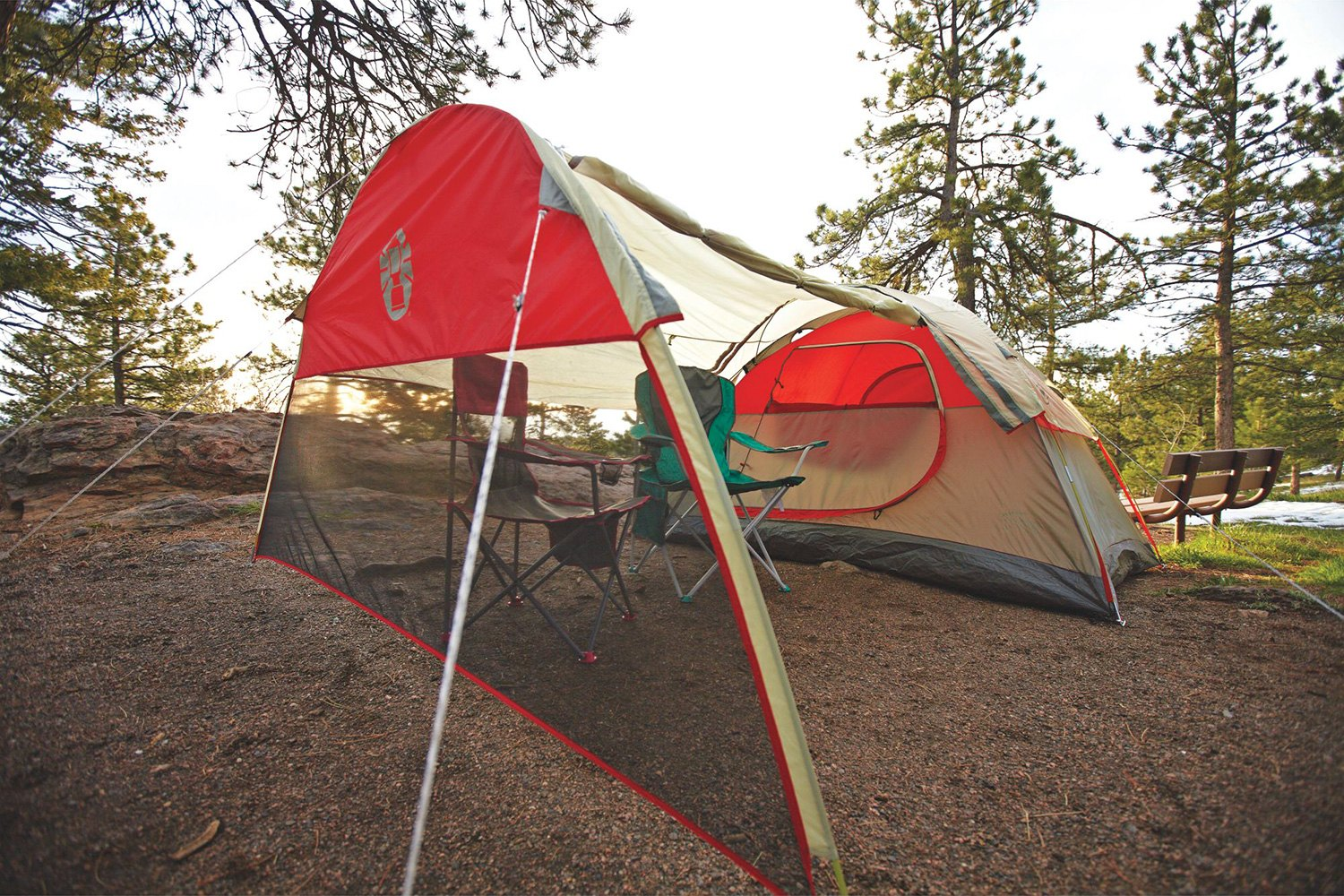 Coleman 174 Cold Springs 4 Person Dome Tent Recreationid Com