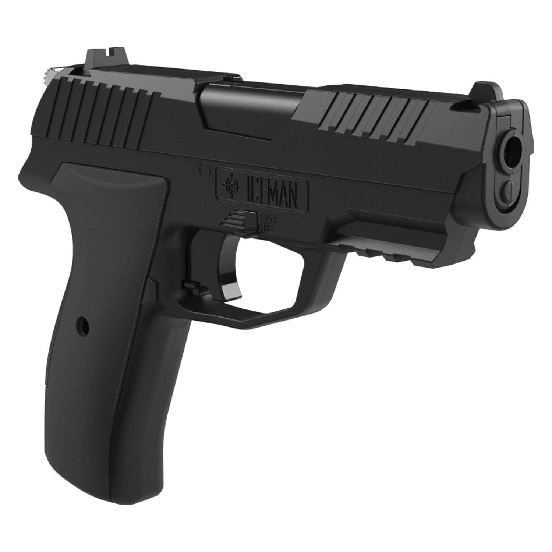 Crosman® CCICE7BKT - Iceman™  177 CO2 Pistol Kit