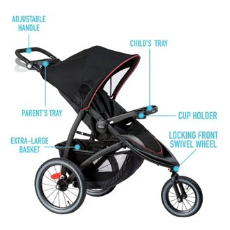 Graco Baby® 2083431 - FastAction™ LX Tansy Jogger Stroller ...