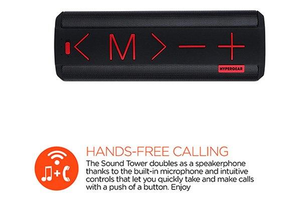 Teal HyperGear MiniBoom Wireless Bluetooth Speaker w// Built-In Microphone