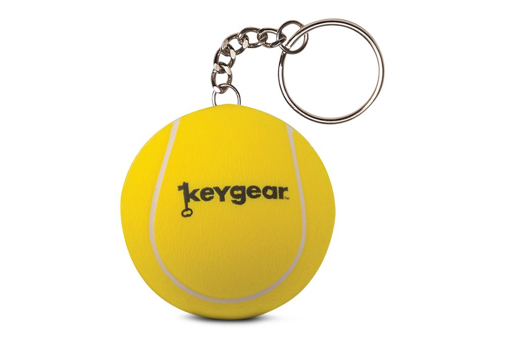 KeyGear Brown Durable Ape LED Light and Sound Keychain Accessory with Handy Clip