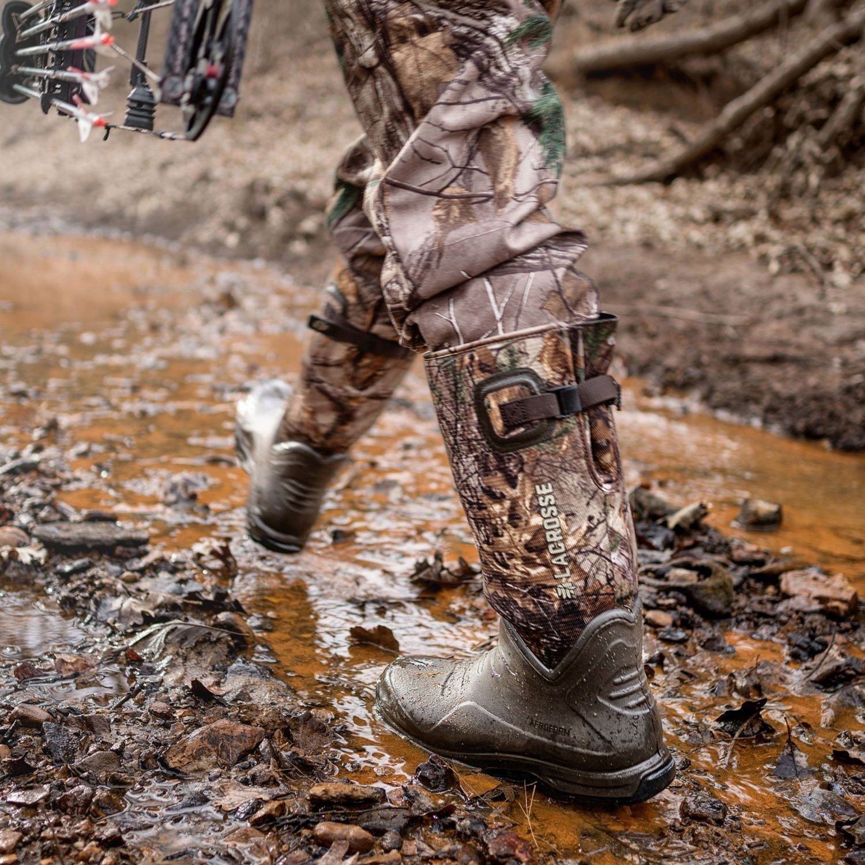 909b0ade258 ... BootsLaCrosse® - AeroHead Sport Realtree Xtra Men s 8 Size Hunting ...