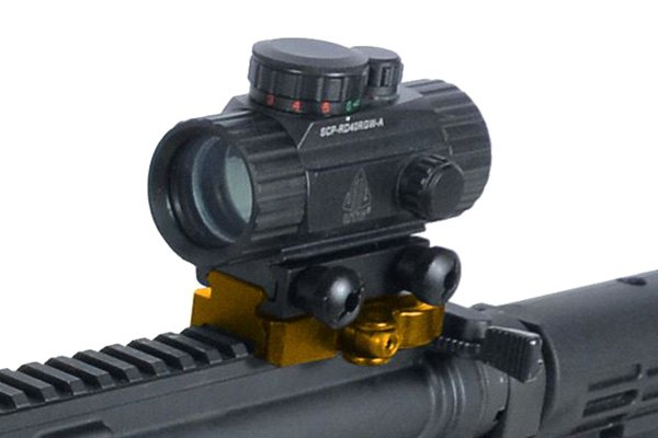 Leapers® - UTG Medium Profile QD Lever Mount Adaptor and Riser