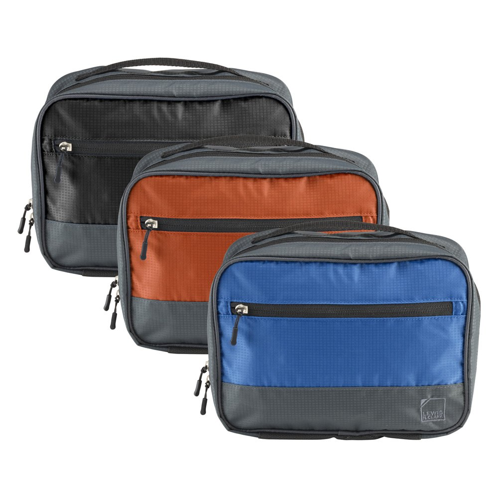 3bd4ce89946b76 Lewis N. Clark® 1521CHR - Discovery Hanging Toiletry Kit ...