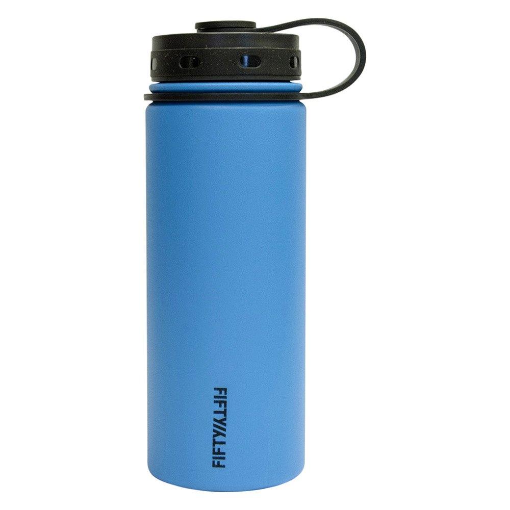 Solar Vacuum Insulated Bottle Lifeline 7506OR 24 oz Orange