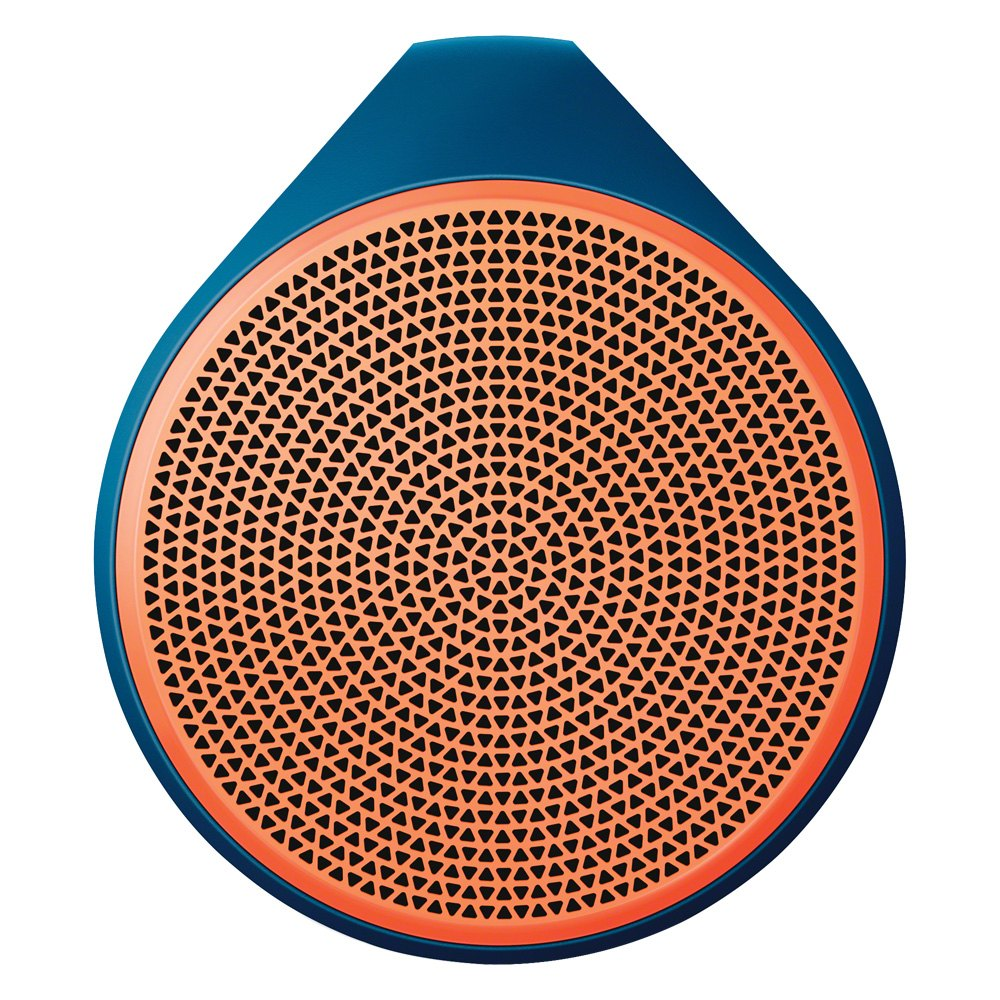 Logitech 984000362 x100 orange mobile wireless speaker for Orange mobel