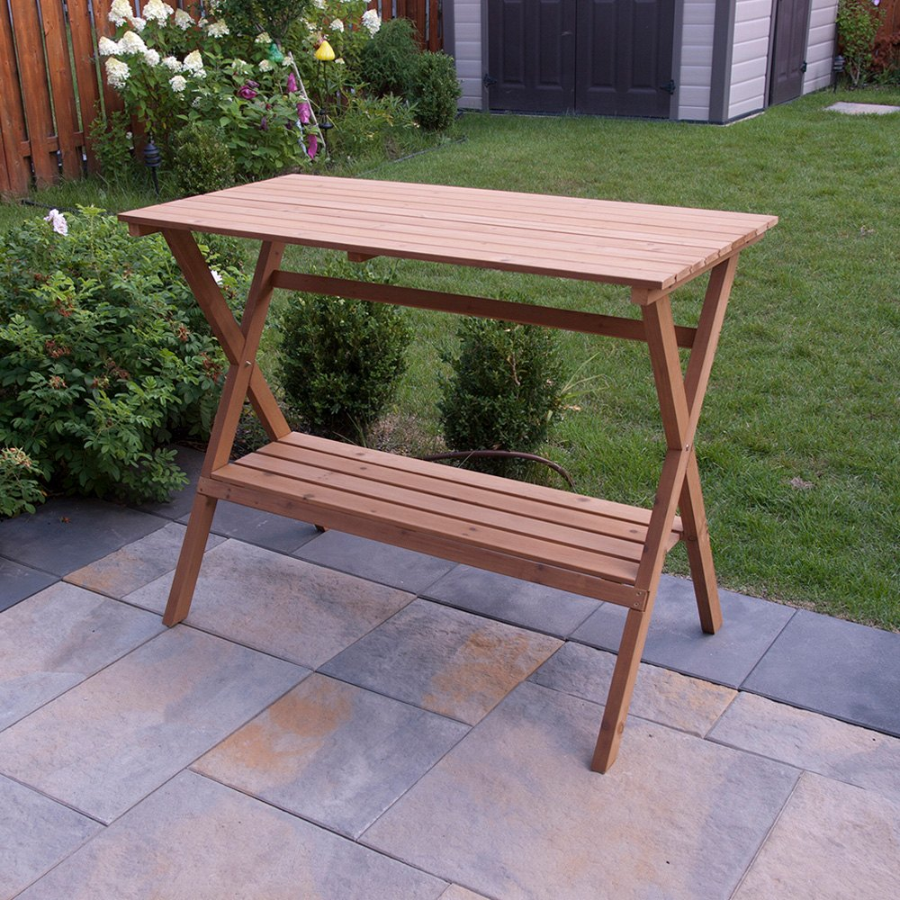 Merry®   Console Table Simple Potting BenchMerry®   Console Table Simple  Potting ...
