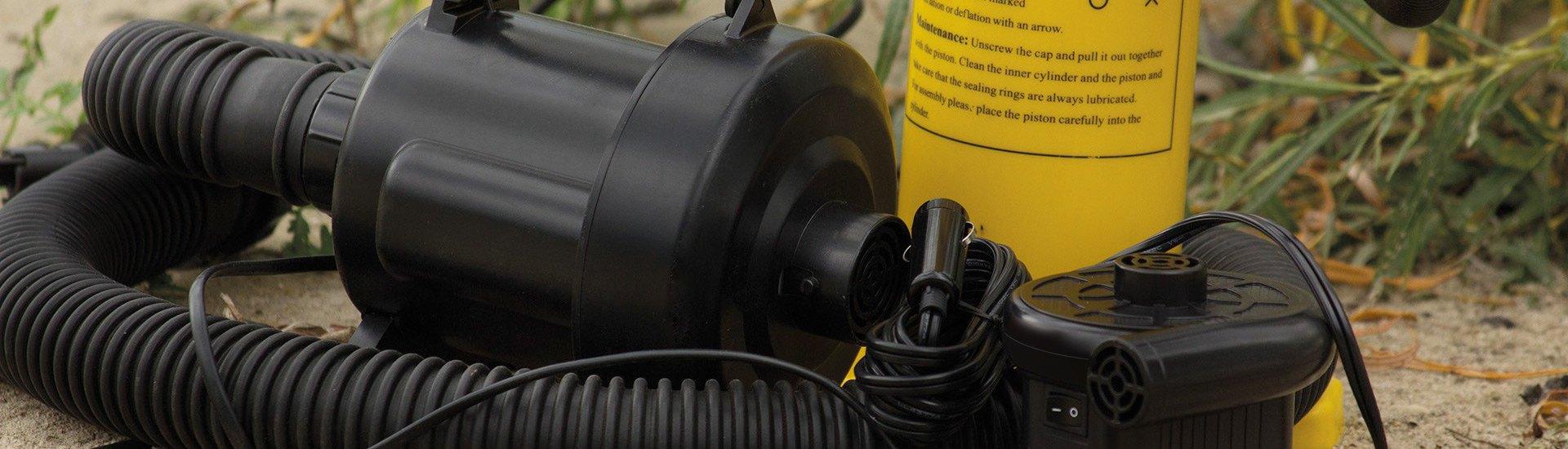 Inflator Pumps | Electric, Hand & Foot Air Pumps - RECREATIONiD com