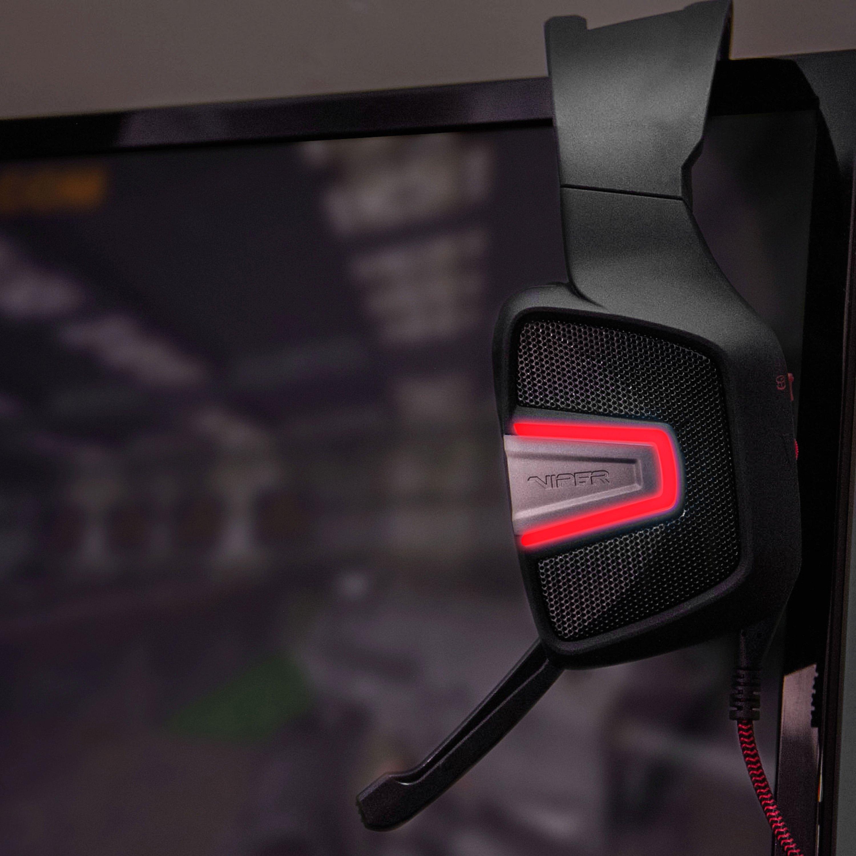 Patriot Memory® - Viper V361 7 1 Virtual Surround Sound LED Gaming Headset