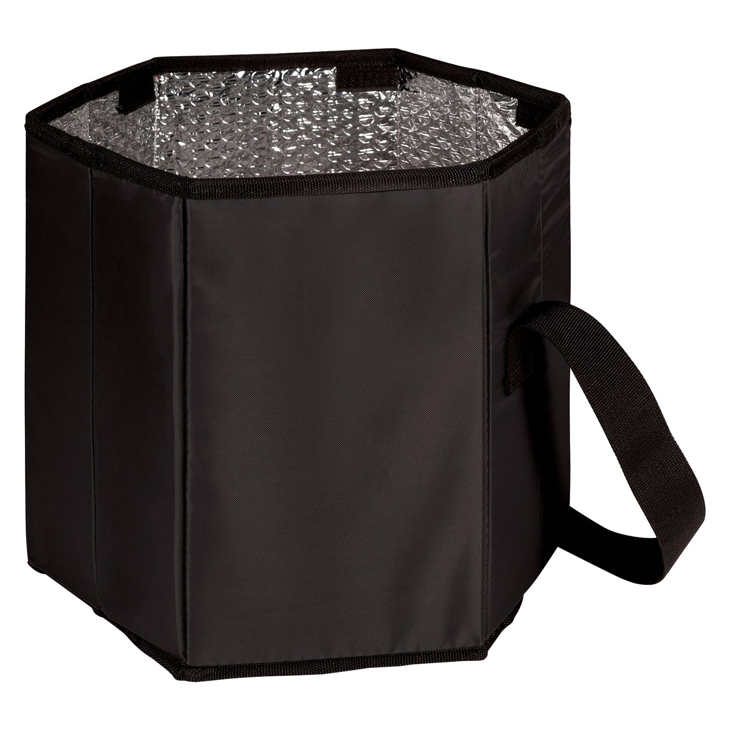 Black Picnic Time 596-00-179-124-2 NFL Green Bay Packers Bongo Insulated Collapsible Cooler