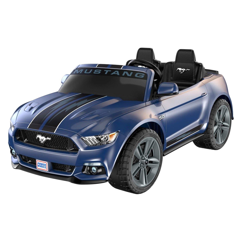 Power Wheels Smart Drive 130 Lb Dark Blue Ford Mustang