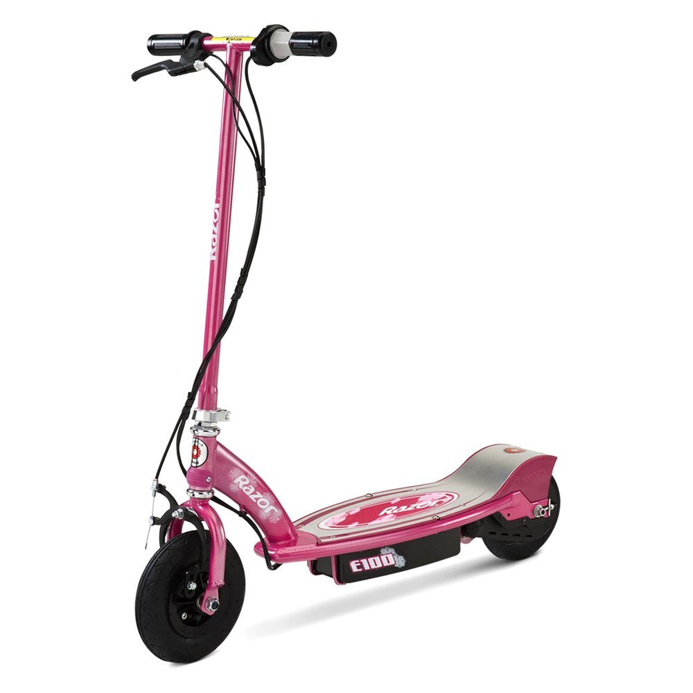 Razor Electric Scooter With Seat >> Razor E100 Series Electric Scooter