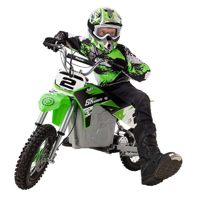 Dirt Rocket Sx500 Mcgrath 36v Green Electric Bike 14