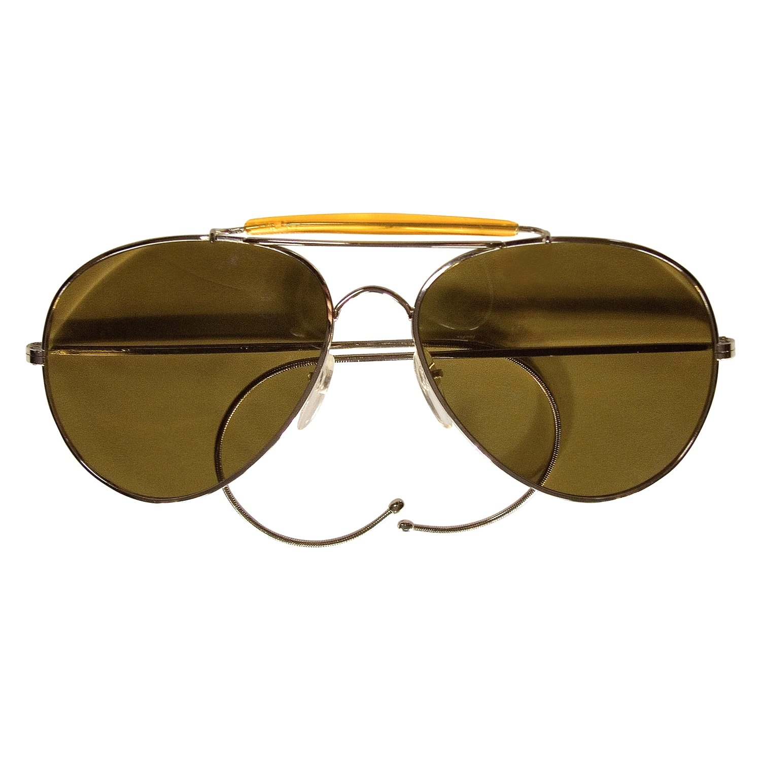 bbe65195593 Rothco® 10299-Brown-Polybagged-Only - Aviator Air Force Style ...