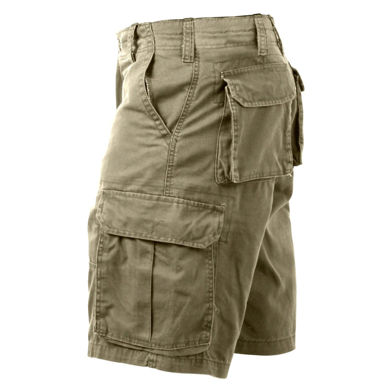 5fe6cc314a Rothco® 2170-Khaki-S - Vintage Solid Paratrooper Cargo Shorts ...
