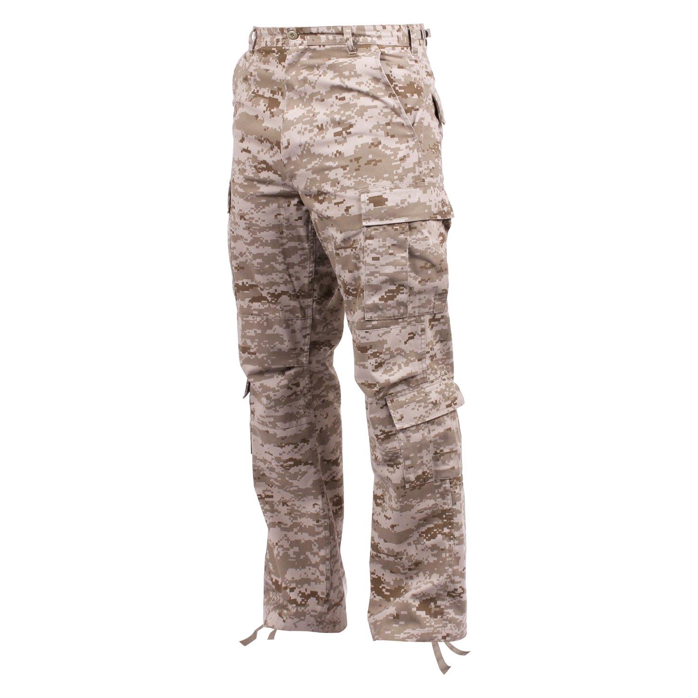 Vintage Desert Digital Camo USMC Paratrooper Pants Tactical Military BDUs 23366