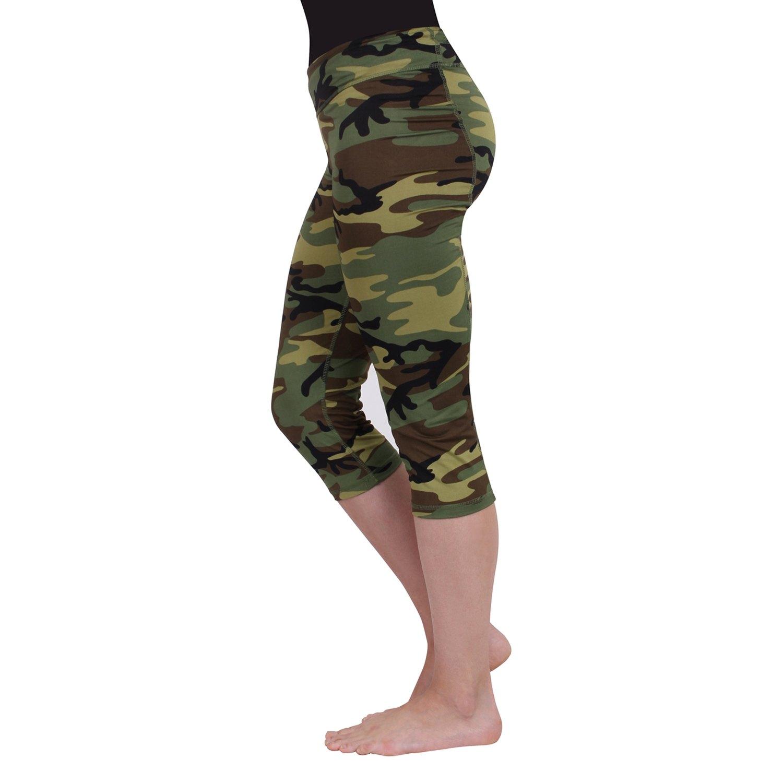 2d508a1f177249 Rothco® - Women's Camo Workout Performance Capri PantsRothco® ...