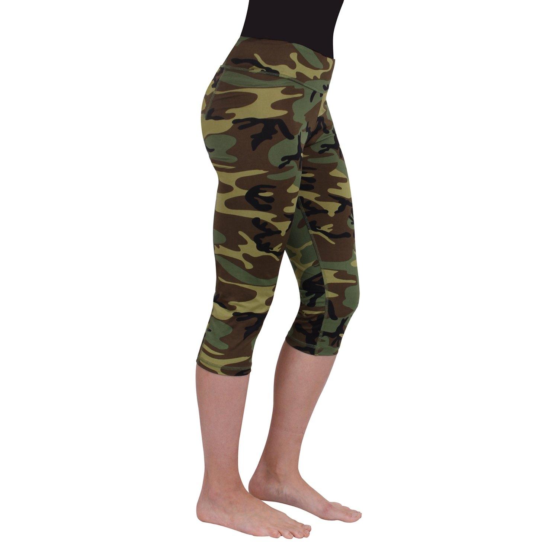 56b3c6548d0fb ... PantsRothco® - Women's Camo Workout Performance Capri Pants