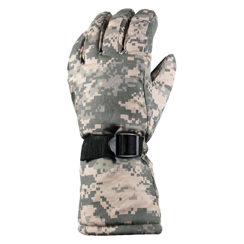 Rothco 4755 Extra-Long Insulated Gloves ACU Digital Camo