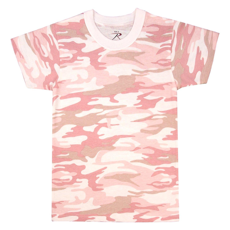 a7647b6e3bfd Rothco® 6397-Baby-Pink-Camo-M - Kid's Camo T-Shirt - RECREATIONiD.com