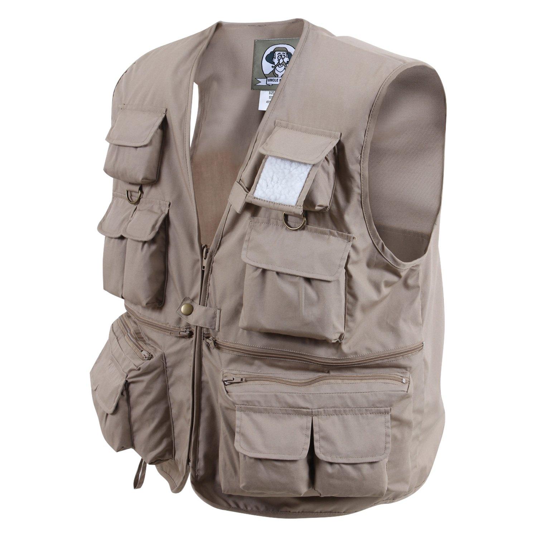 c164b8ccf Rothco® 7546-Khaki-XL - Uncle Milty Travel Vest - RECREATIONiD.com