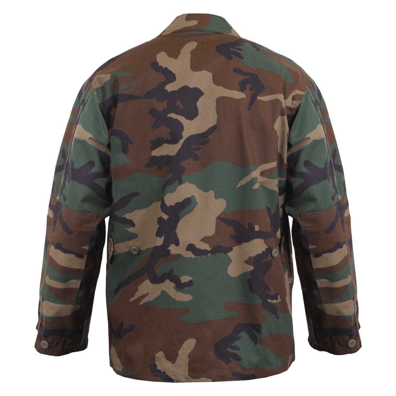 85df6bb2d82 Rothco® 7940-Woodland-Camo-M - Camo BDU Shirt - RECREATIONiD.com