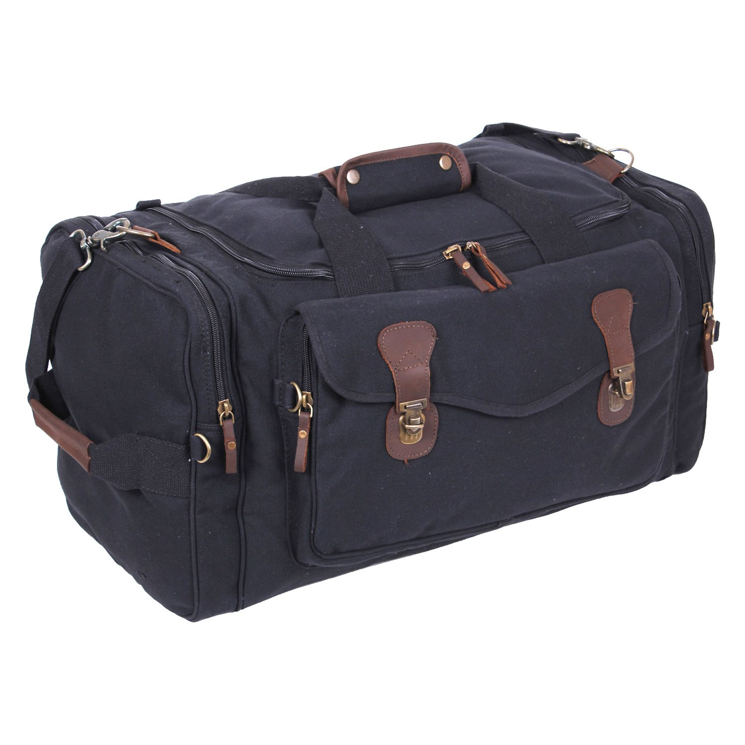 93198f8ad1 Rothco® 9611 - Canvas Long Weekend Bag - RECREATIONiD.com