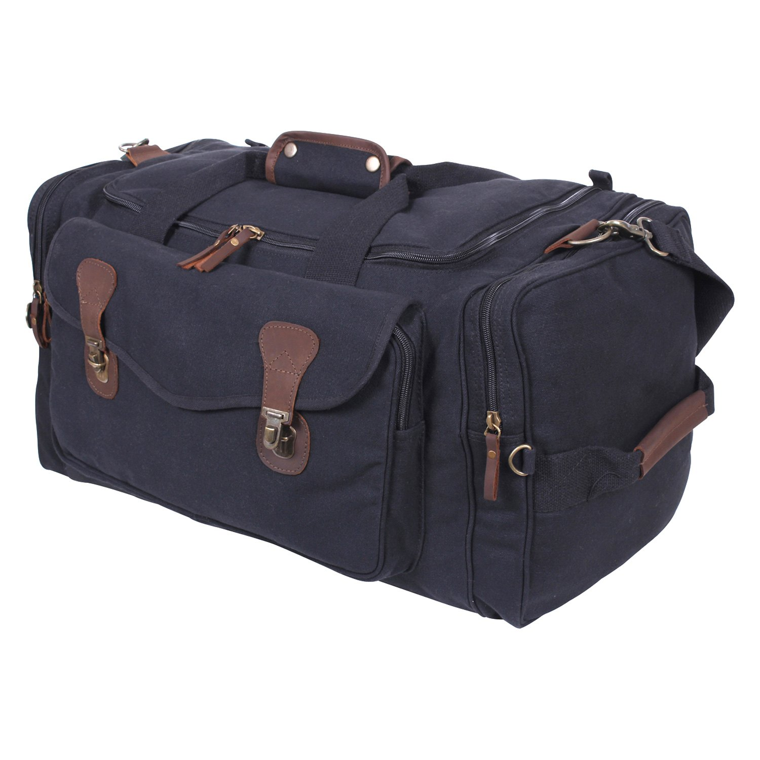 5d906f0b81 Rothco® - Canvas Long Weekend Bag - RECREATIONiD.com