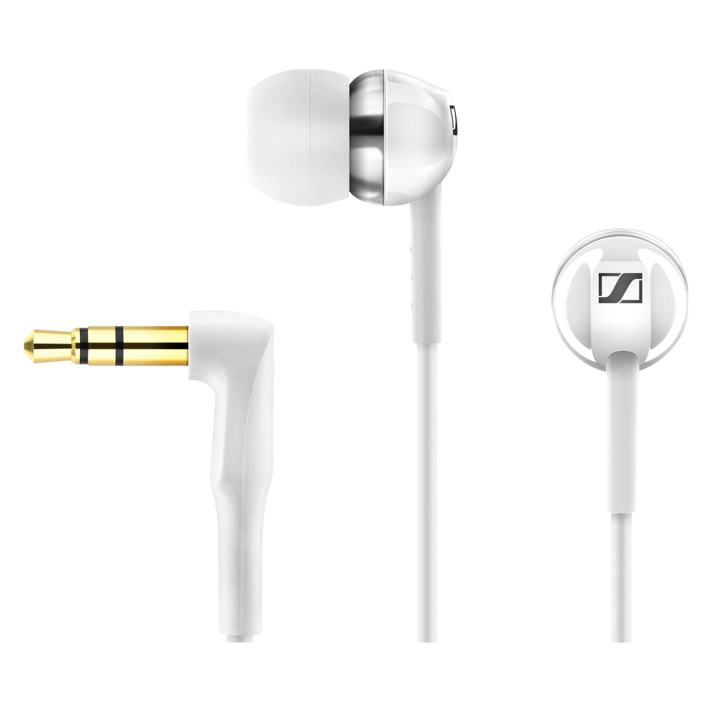 Sennheiser 506084 Cx 100 White Earbuds Earphone Sport