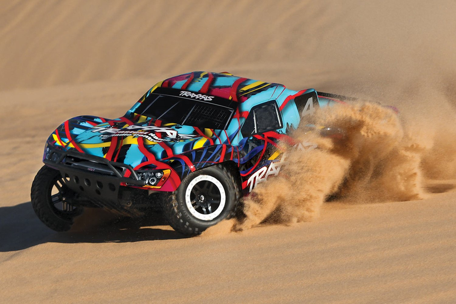 Traxxas® TRA58034-1-MIKE - Slash Series 1/10 Scale 2WD Mike Jenkins  Electric Short Course