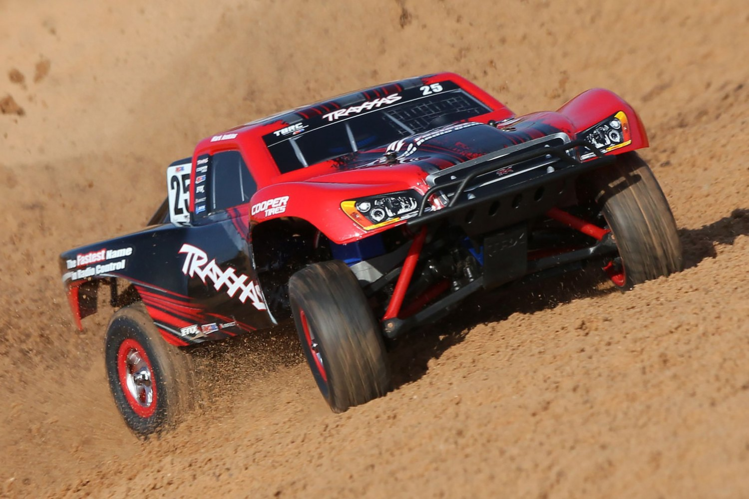 Traxxas® TRA70054-1 - Slash Series 1/16 Scale 4WD Brushless Electric Short  Course