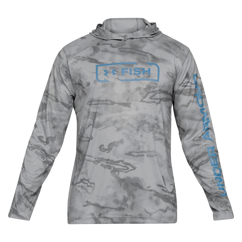 58ade93b62 Under Armour® 1341691-035-LG - Iso Chill Shore Break Camo Men's Fishing  Large Long Sleeve Shirt