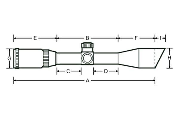 UTG® SCPM4CR5WQ - 4x 32mm Crossbow Scope