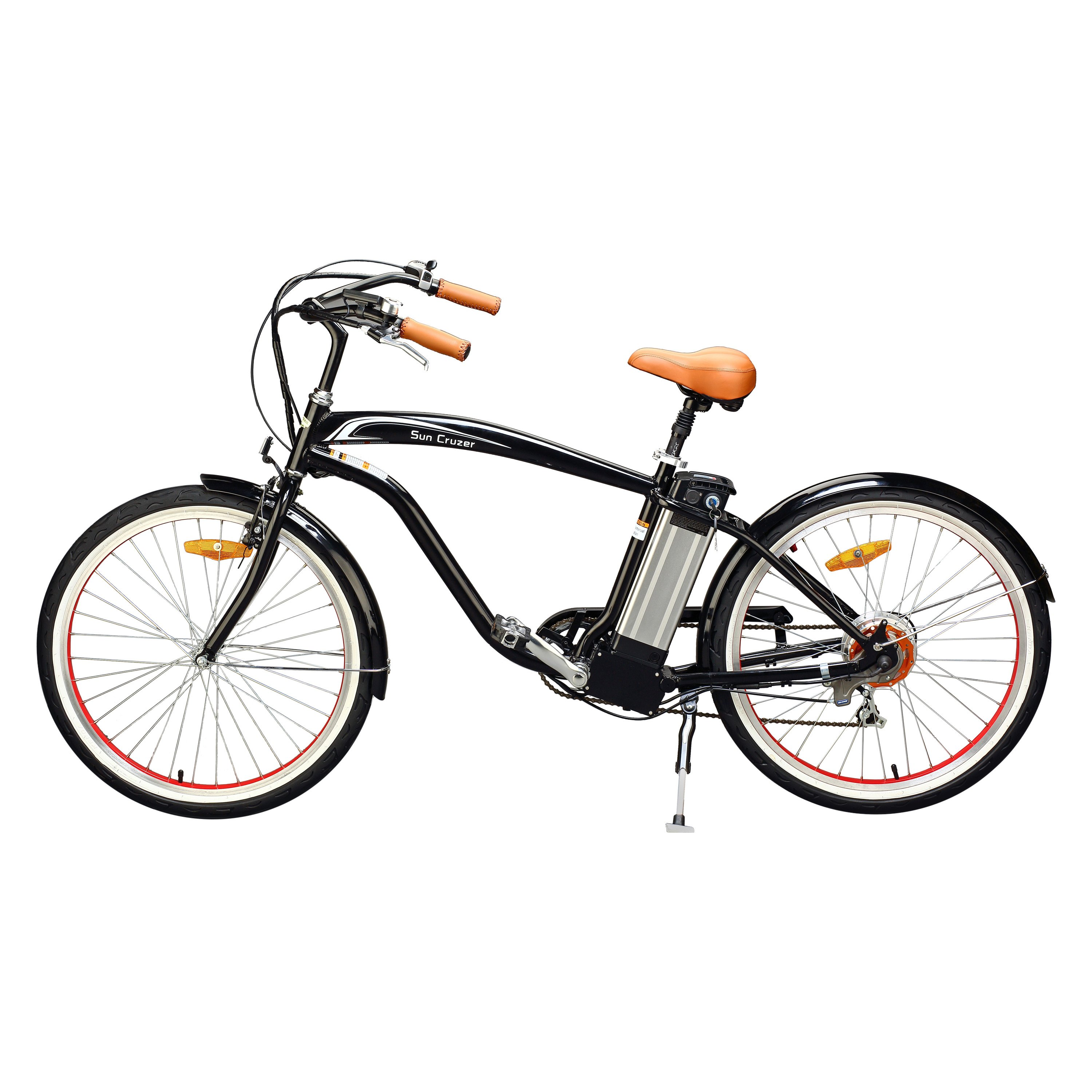 Yukon Trail Bicyclesun Cruzer Eco Friendly Electric Bike